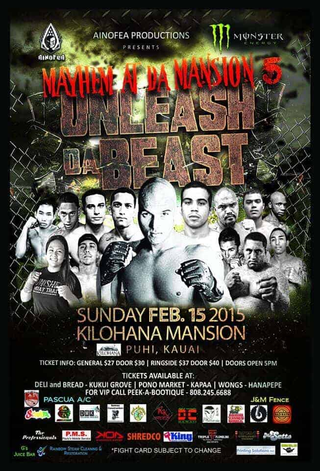 Ainofea Kauai Release the Beast