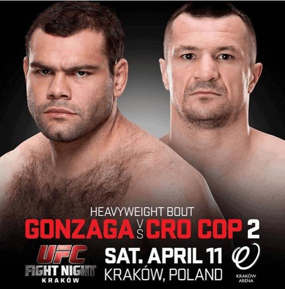 UFC Gonzaga vs Cro Cop 2