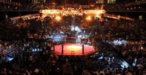 MMA Cage Event