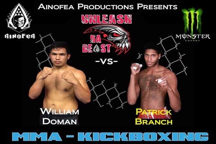 William Doman vs Patrick Branch