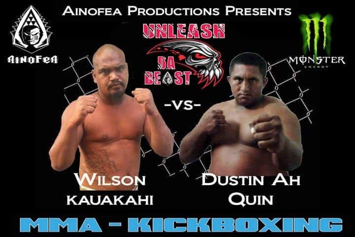 Wilson Kauakahi vs Dustin Ah Quin