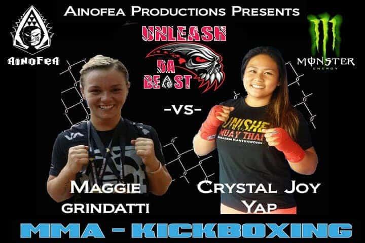 Maggie Grindatti vs Crystal Joy Yap