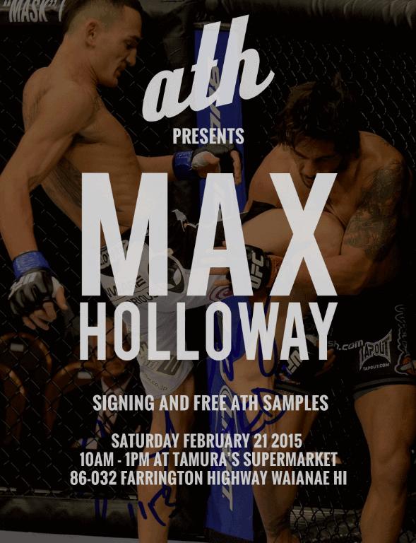ath presents Max Holloway