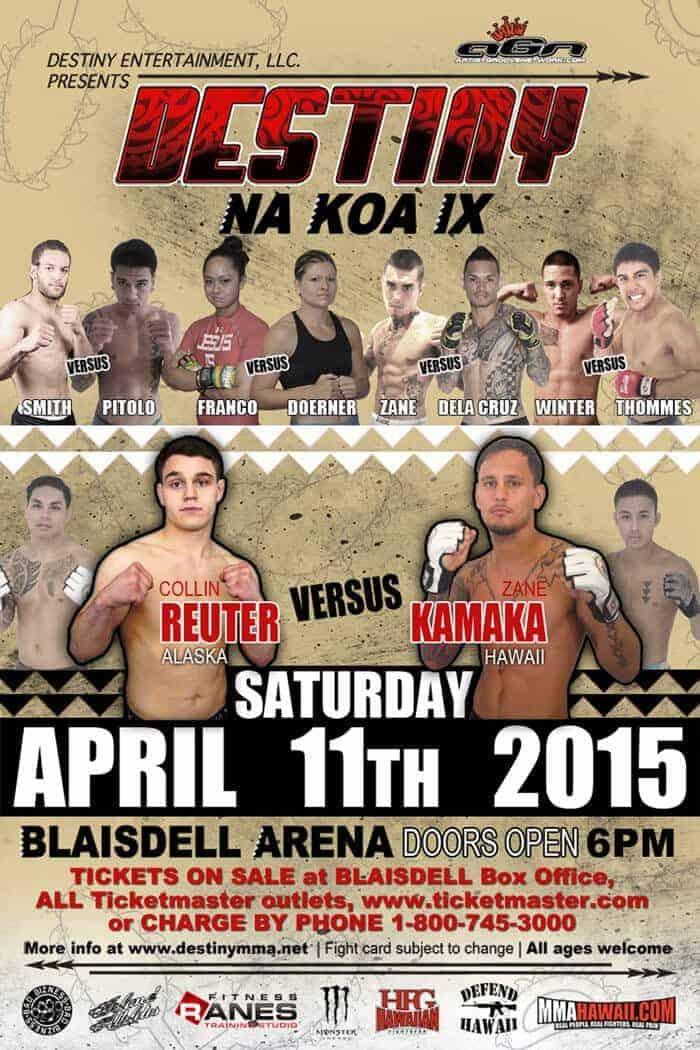 DESTINY MMA Na Koa IX