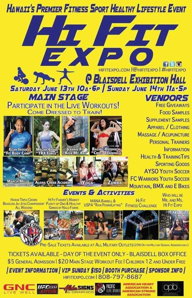 Hi Fit Expo Poster