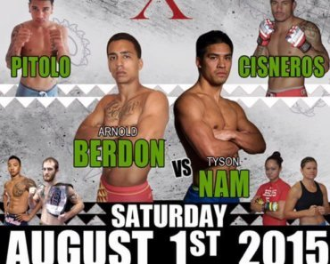 Live Local MMA in Hawaii Aug 1