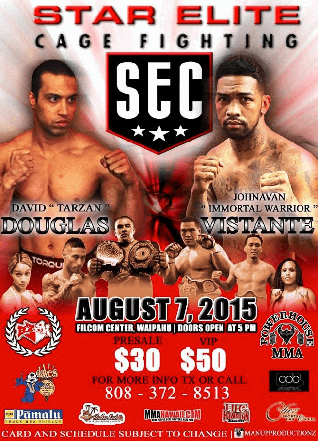 Star Elite Cagefighting Aug 7