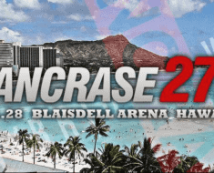 Pancase Japan teams up with Destiny MMA for a Event in Honolulu Nov 28