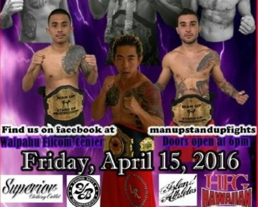 Muay Thai Fight Hawaii