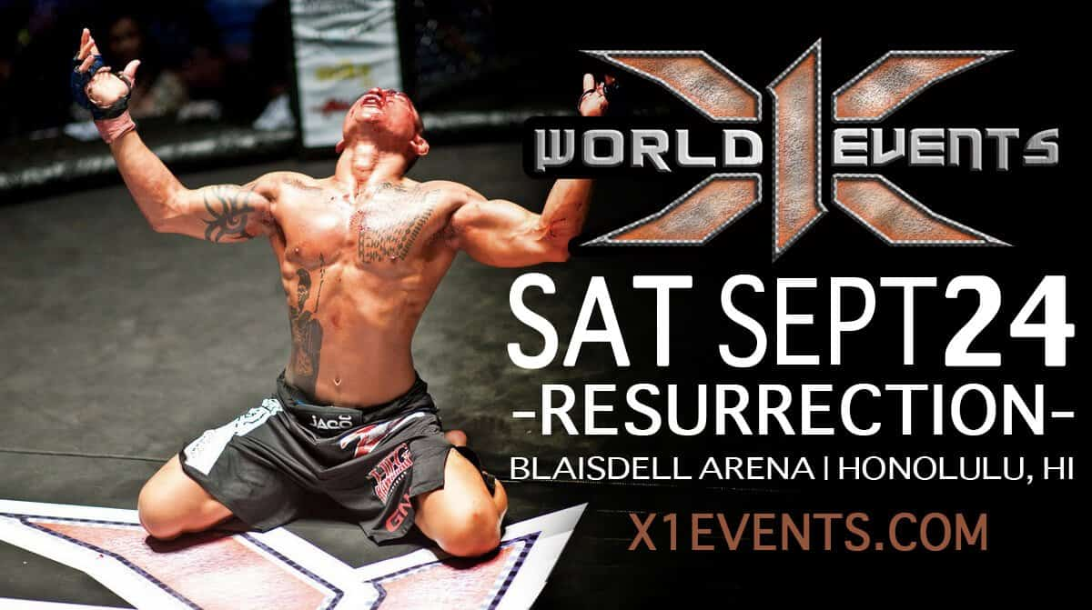 X1 World Events MMA Sept 24 2016
