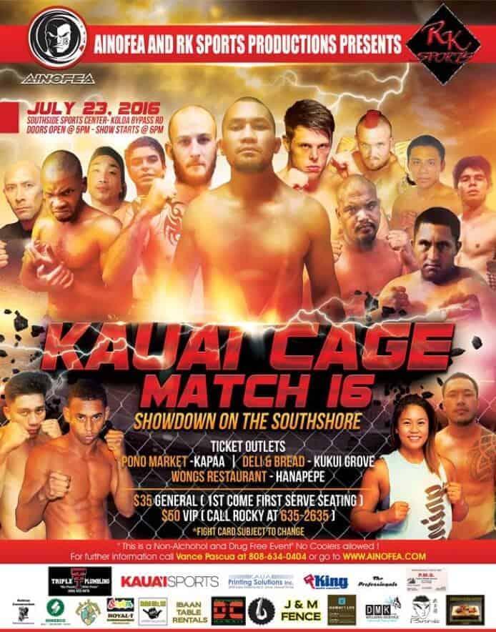 Kauai Cage Match 16