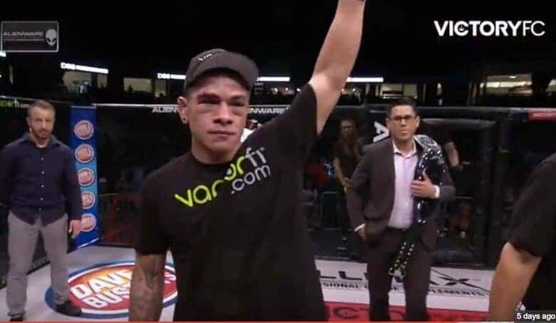 hawaii's own Maki Pitolo victory at VFC 52