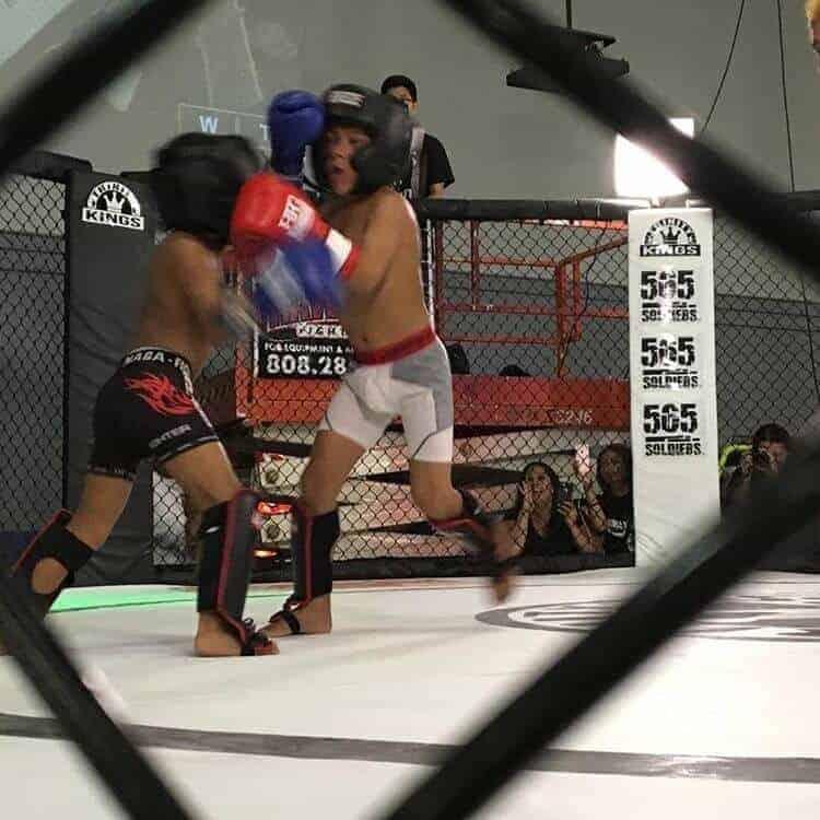 Kids Kickboxing at Trinity Combat Sports