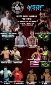 MMA Argentina Cage Fighting Bryanna Fissori