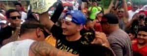 Max Holloway Recieves Heros Welcome with UFC Belt
