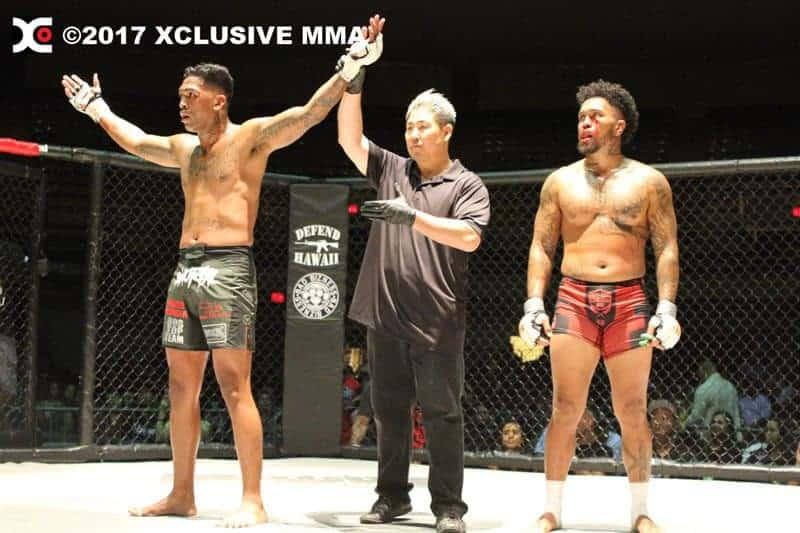 Johnavan Visante defeats Darius Lando Hawaii MMA