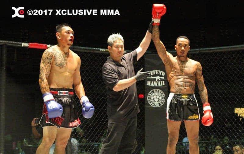 Kaleo Meheula vs Kevin Hugo Hawaii Kickboxing
