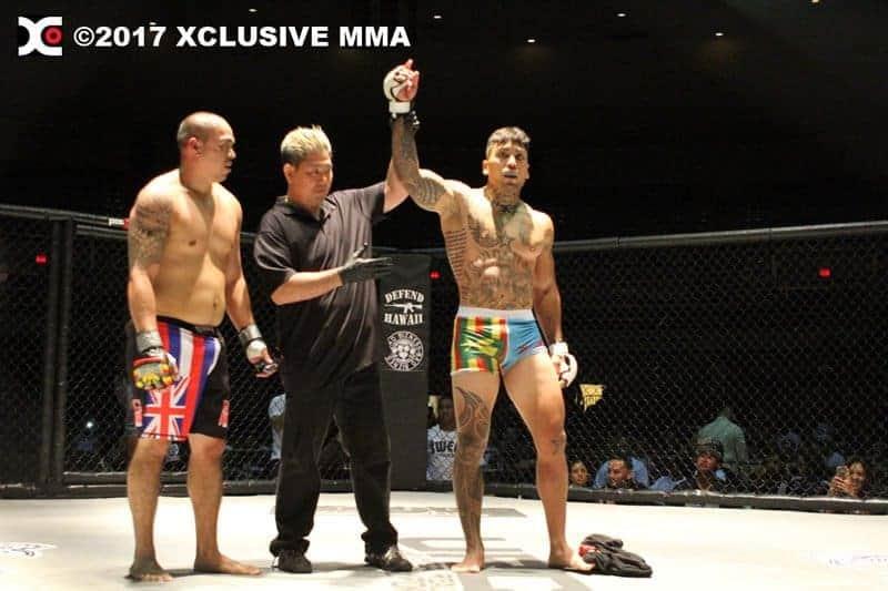 Micah Mahikoa defeats Traviz Lau Hawaii MMA