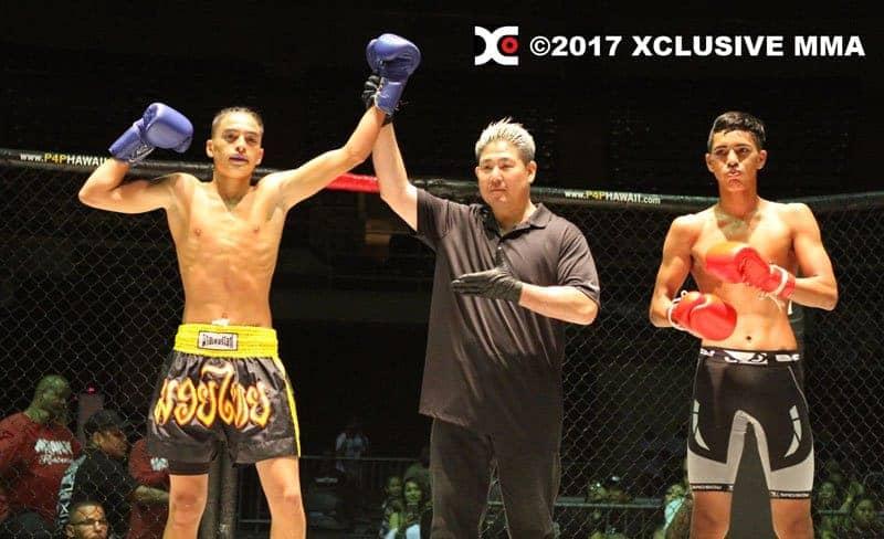 Taz Kaleipo vs Nakoa Fujimura Hawaii Kickboxing