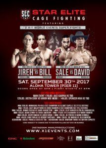 Hawaii MMA Star Elite Cage Fighting SEC X1