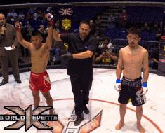 Rodney Mondala vs Taiki Tsuchiya 135lb WT