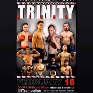 Trinity Kings MMA Fight poster