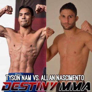 Tyson Nam vs Allan Nascimento