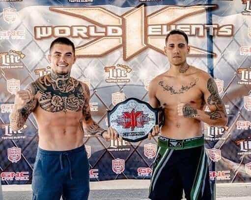 X1 52 Fighter Weigh-In Zach Zane vs Keali'i Kanekoa