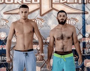 X1-52 Weigh-in Braydon Akeo vs Austin Bloch