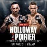 Holloway vs. Porier – April 13, 2019 Atlanta