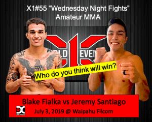 Blake Fialka vs Jeremy Santiago