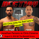 Cisneros vs Parsons – August 3, 2019 at the Blasidell Arena