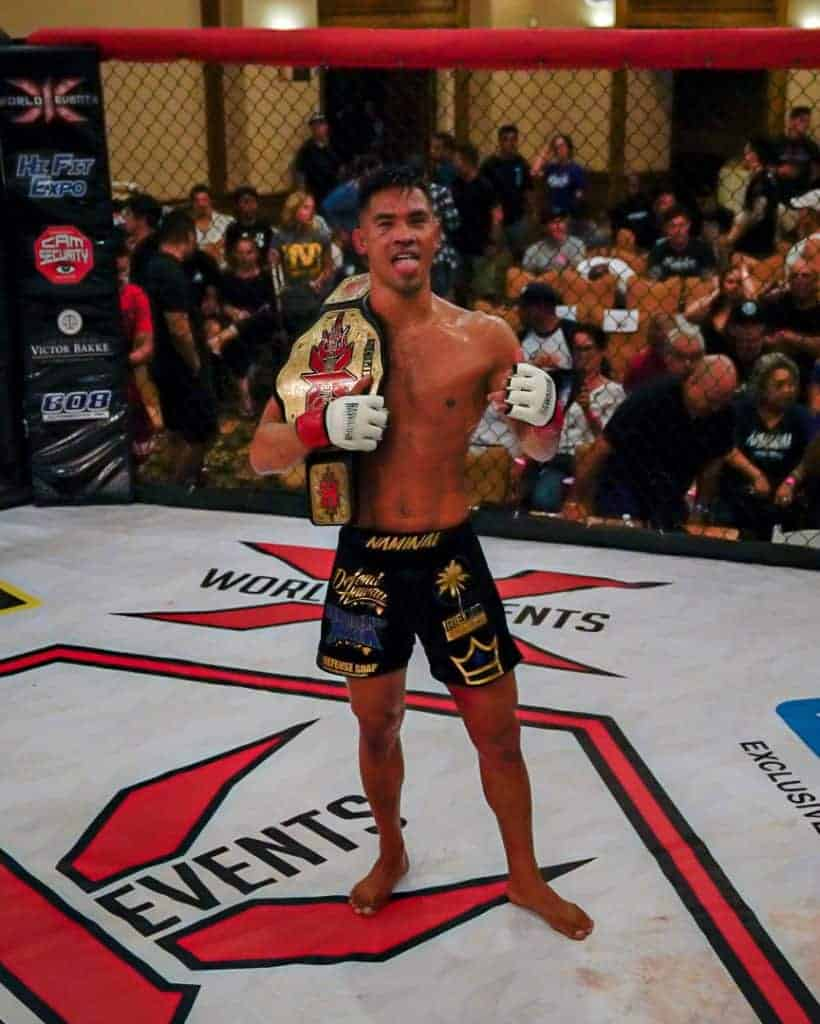 Tyson Nam X1 135lb World Champion