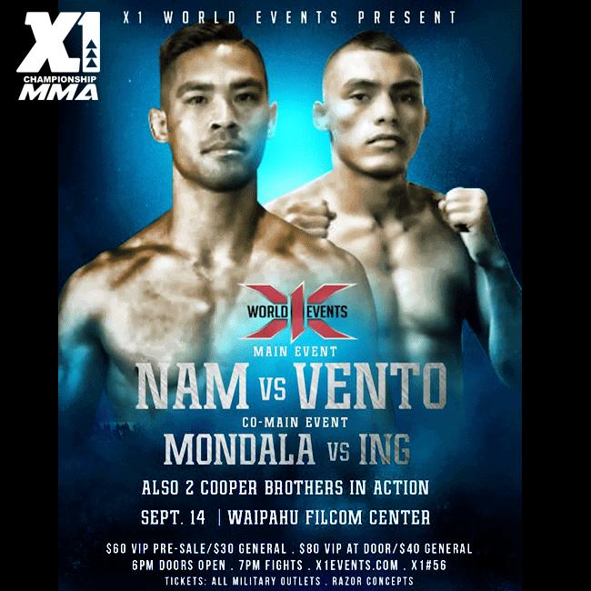 X1#56 Nam vs Vento