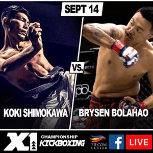 Brysen Bolahao vs Koki Shimokawa X156
