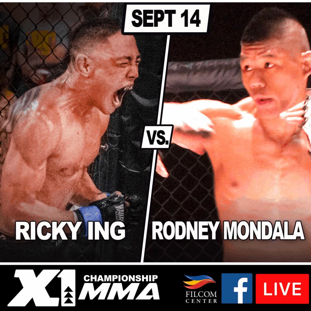 Rodney Mondala vs Ricky Ing,