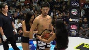 Koki Shimokawa X1 170lbs Kicboxing Title