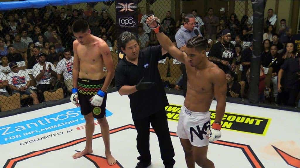 Makoa Cooper defeated Nathan McKenzie with 1R TKO