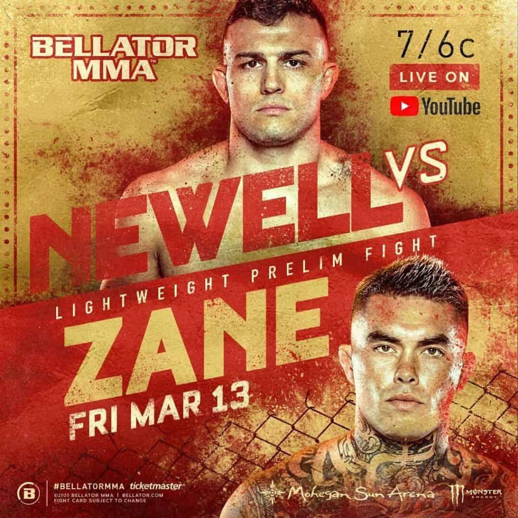 Zach Zane vs Nick Newell