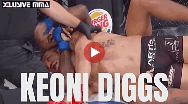 Keoni Diggs MMA