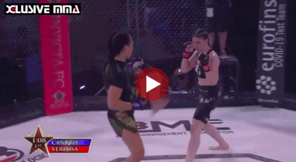 Raquel Canuto vs Lisa Verzosa Fight