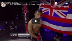 Christian Natividad vs Jose Holguin