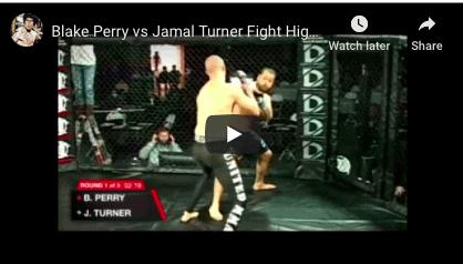 Blake Perry vs Jamal Turner