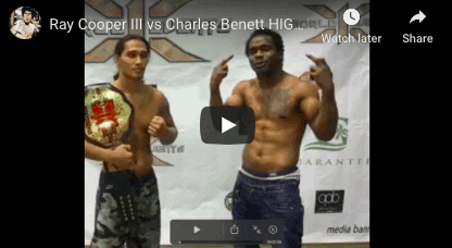 Ray Cooper iii vs Charles Bennett Fight Highlights