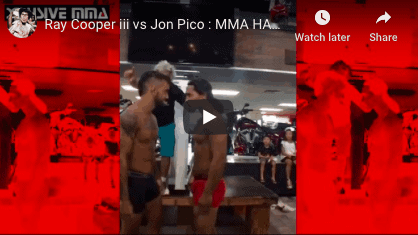 Ray Cooper iii vs Jon Pico Fight Highlights