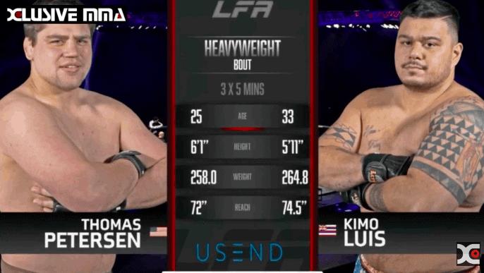 Kimo Luis vs Thomas Petersen : Hawaii MMA Highlights