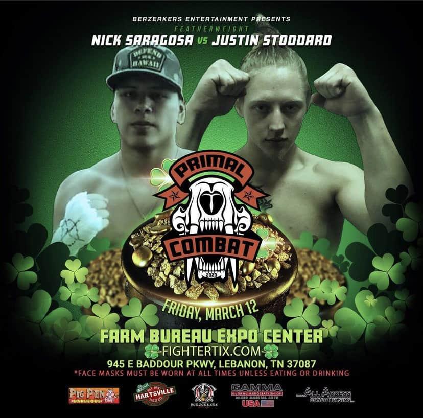 Nick Saragosa vs Justin Stoddard
