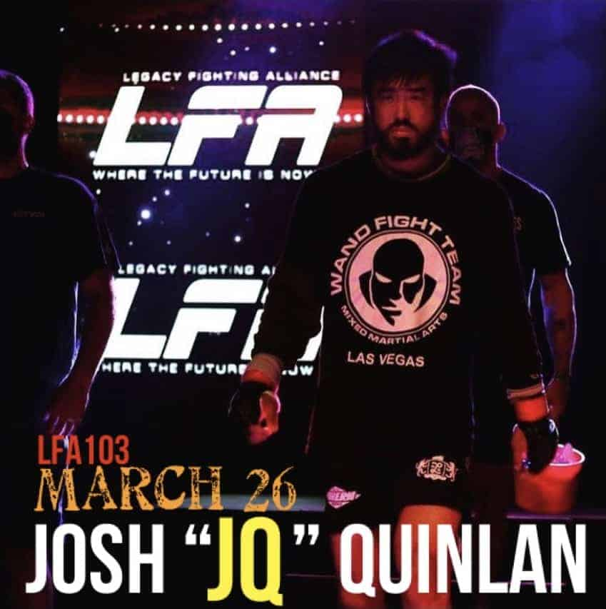 Josh Quinlan to face Dallas Jennings at LFA 103 MArch 26