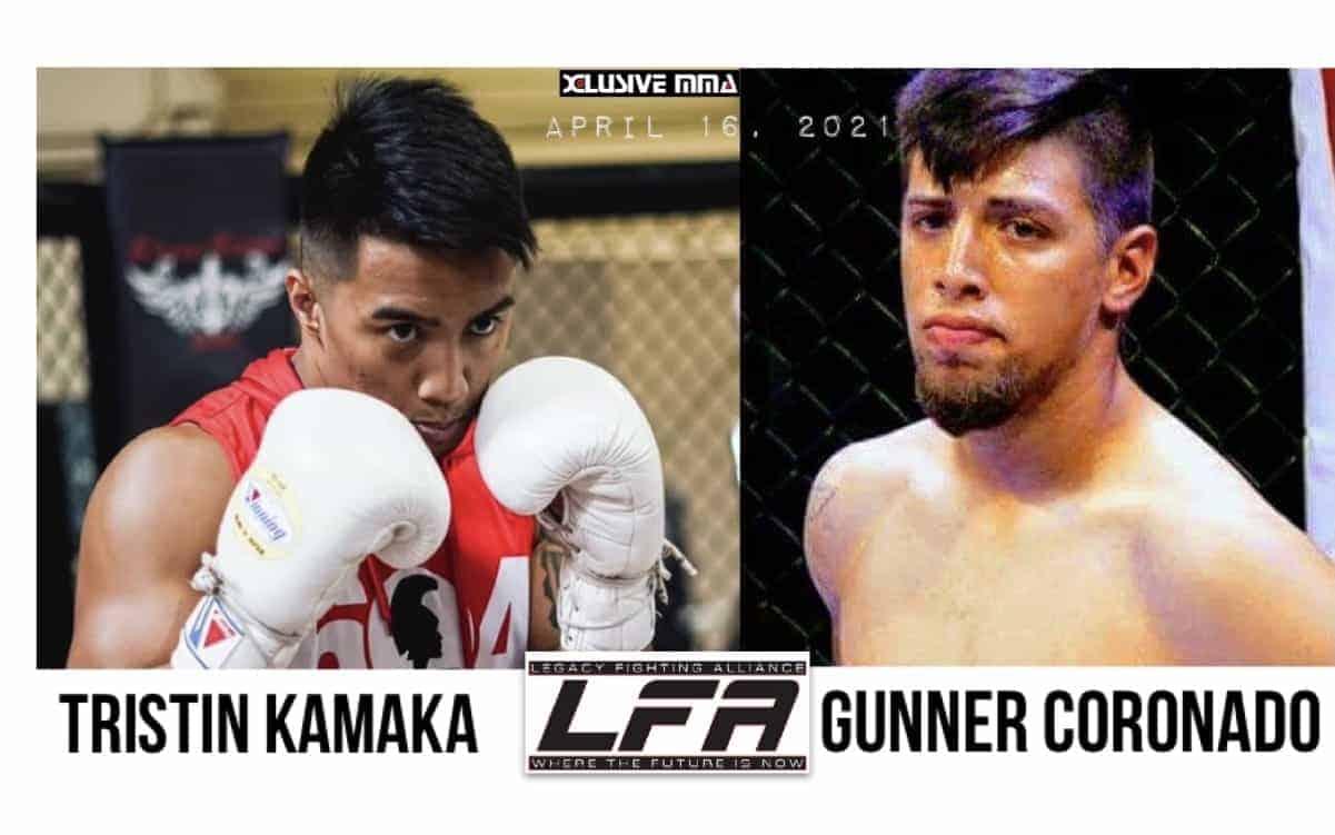 Tristin Kamaka vs Gunner COronado
