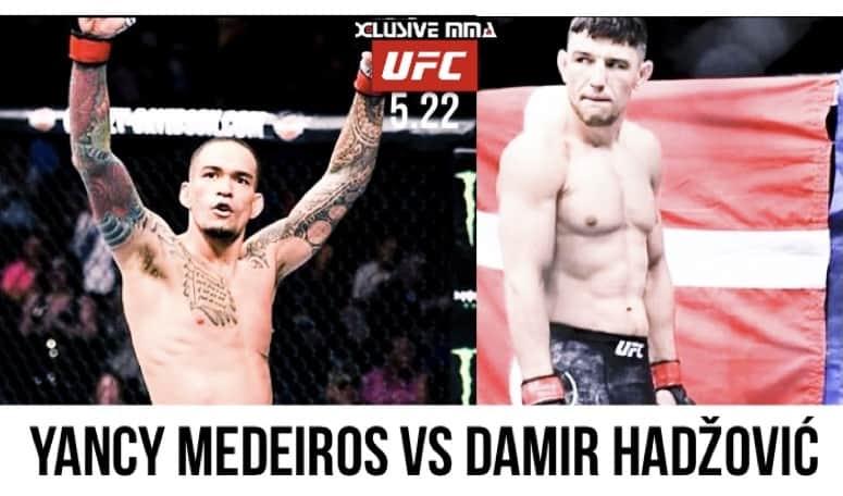 Yancy Medeiros vs Damir Hadžović